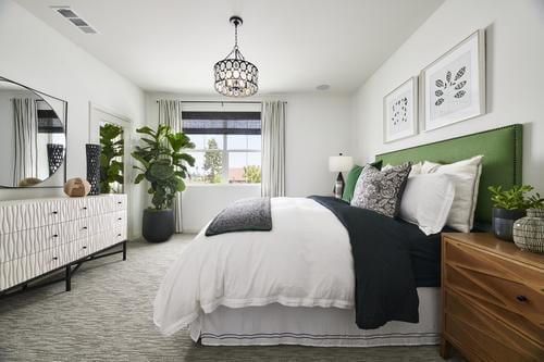 master bedroom at Plan 3 at Bayberry by Brookfield Residential